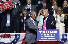 They call me MR BREXIT! Trump and Farage campaign together in Mississippi