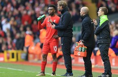 'Daniel can play there': Klopp and Sturridge on collision course over attacker's position