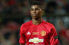 Rashford demoted to England U21 squad after losing United place under Mourinho