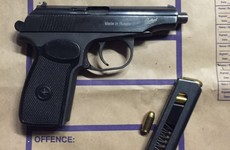 Handgun and ammunition seized by gardaí targeting feuding gangs