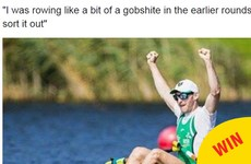 Paul O'Donovan added another iconic phrase to Irish sport on RTÉ yesterday