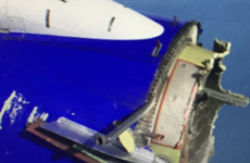 US flight makes emergency landing after engine breaks apart