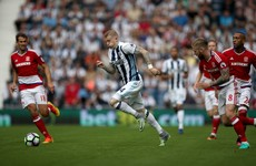 James McClean makes first start of the season as West Brom labour to uninspired draw