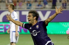 Kaka rolled back the years in MLS last night and got one over on Patrick Vieira