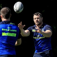 Sexton a few weeks from return but Healy, Rob Kearney and McCarthy in line for Pro12 opener