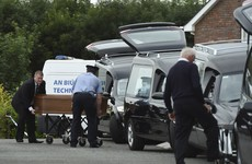 Four hearses on a country road: a community in anguish at suspected murder-suicide