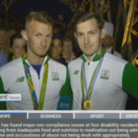 Paul O'Donovan: 'We're not great at judging crowds but I�d say there's a million or something here'