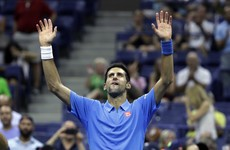 Novak Djokovic treated the crowd to a bit of Phil Collins after his win at the US Open last night