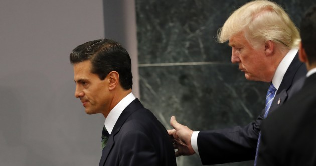 Trump tells Mexican president border wall between Mexico and US would be 'mutually beneficial'