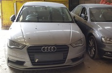 Stolen Audi cars recovered in Meath and Wicklow as gardaí target organised crime gang
