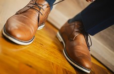 Wearing brown shoes with a suit could lose you a job in banking