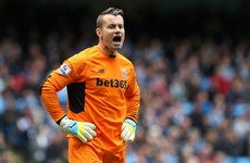 40-year-old Shay Given set for prolonged spell as Stoke's first-choice after Butland injury setback