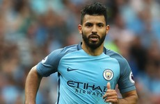 Sergio Aguero is officially out of the Manchester derby