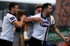 Dundalk hold firm at the death to squeeze past Bohs and open up four-point lead