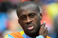 Pep Guardiola leaves Yaya Toure out of City's Champions League squad