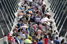 The world's longest glass bridge has closed after visitors flock to see it