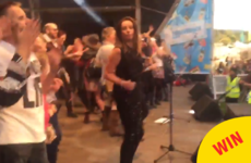 Bananarama invited the EP crowd on stage during 'Venus' and it was the BEST craic