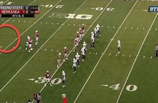 Nebraska intentionally took a penalty to pay tribute to teammate who died in a car accident