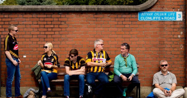 In pictures: Tipp and Kilkenny fans show their colours as crowds head for Croker