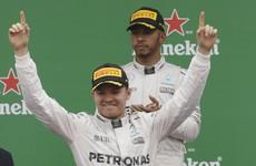 Good job! Rosberg punishes Hamilton and closes championship gap to just 2 points