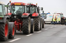 """Farmers and truckers blockading Calais in protest at migrant camp """"The Jungle"""""""