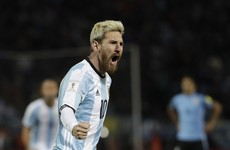 Injury puts Messi in doubt for Champions League tie with Celtic