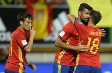 Spain show no mercy as they hammer eight past Liechtenstein