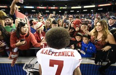 Colin Kaepernick's jersey is now the third biggest seller among NFL quarterbacks