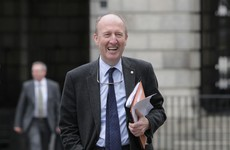 Shane Ross says tourism is the only part of his job where there's 'peace and quiet'