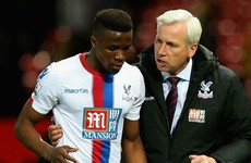 Wilfried Zaha has potential to play for Barcelona, says Pardew