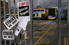 Dublin Bus drivers are on strike again today - but you can get cheap taxis