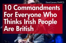 10 commandments for everyone who thinks Irish people are British