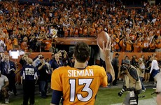Broncos win Super Bowl rematch as Manning's replacement enjoys solid debut