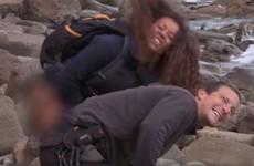 Mel B actually peed on Bear Grylls to help with his jellyfish sting... it's The Dredge