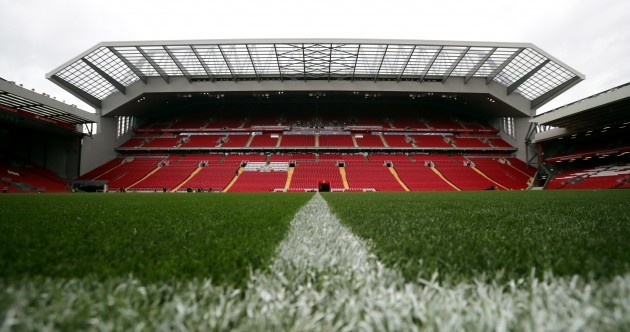 Liverpool unveil new main stand at Anfield as capacity of the ground increases
