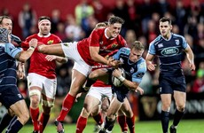 Rassie Erasmus' Munster taste home defeat to Cardiff in Cork