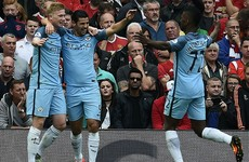 De Bruyne excels as City get the better of United in electrifying Manchester derby