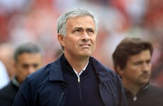 Mourinho blames Man United players following derby defeat
