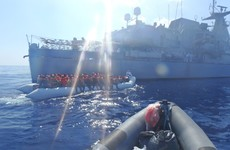 LÉ James Joyce helps to rescue almost 2,000 migrants off the coast of Libya