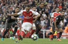 Cazorla keeps his nerve as Arsenal leave it very, very late while West Ham crumble at Watford