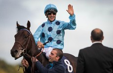 Thrilling Irish Champion Stakes sees Dettori pipped by French Derby winner