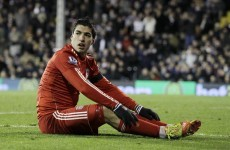 Suarez faces fresh charge after giving Fulham fans the finger