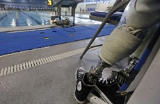 Broken your prosthetic leg? Go to the Paralympic 'hospital'