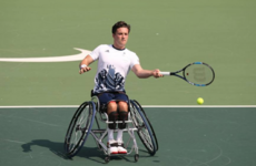 Setting the wheels in motion: Wimbledon champion's tale of triumph over adversity