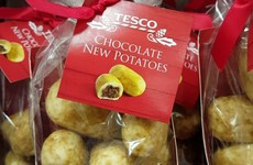Tesco is selling these 'chocolate new potatoes' for Christmas - but what even are they?