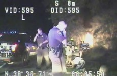 Watch: Police save babies from burning car in dramatic rescue