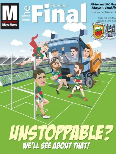 This All-Ireland final supplement is worth buying for the front cover alone