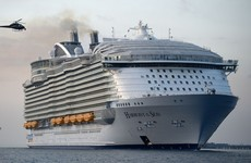 Crew member on world's largest cruise ship dies during safety drill