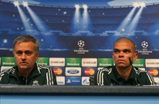 'It lasted three years and thank god it went very quick' - Pepe on Mourinho at Madrid