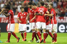 Bayern Munich thump Russian opponents, Atletico Madrid and Napoli claim wins